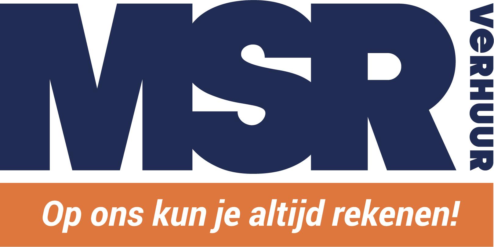 Logo MSR Verhuur website